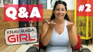 Krav Maga Girl | Q&A | Is it Better to Kick or Squeeze a Guy's Balls ?