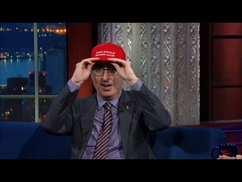 John Oliver Never Thought He d Have To Care About Trump