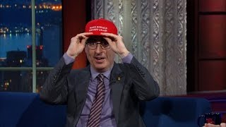 John Oliver Never Thought He
