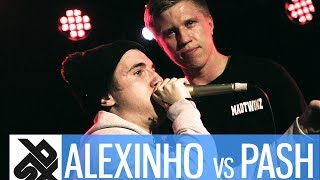 ALEXINHO vs PASH  |  Grand Beatbox 7 TO SMOKE Battle 2017  |  Battle 13