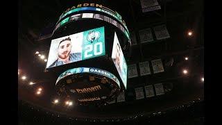 Gordon Hayward Addresses the Boston Celtics Home Crowd | October 18, 2017