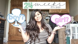 24 Weeks Pregnant with 8th Baby