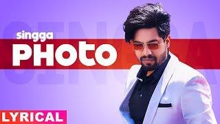 Photo (Lyrical) | Singga ft Nikki Kaur | Tru Makers| Latest Punjabi Songs 2019 | Speed Records