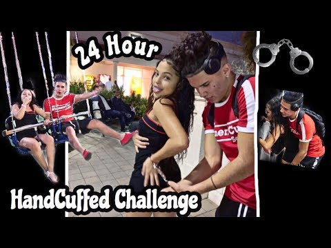 24 HOURS HANDCUFFED TO MY CRUSH 😍 OUR FIRST DATE