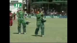 July 2006: Bangladesh vs Zimbabwe (2nd ODI) NTV news clip (Bangla)