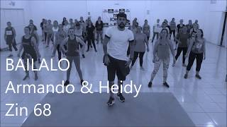 Zumba® - Zin 68 - Bailalo Armando & Heidy - Coreografia l Cia Art Dance