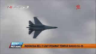 Indonesia Beli 11 Unit Pesawat Tempur Sukhoi Su-35