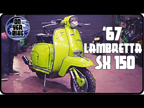 Can a Lambretta Do Wheelies We Meet Barry and his Suped up SX 150