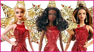 Holiday Barbie Dolls 2017 Doll Review
