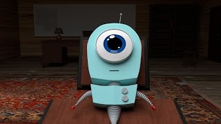 Robby - 3D Animation (Blender)