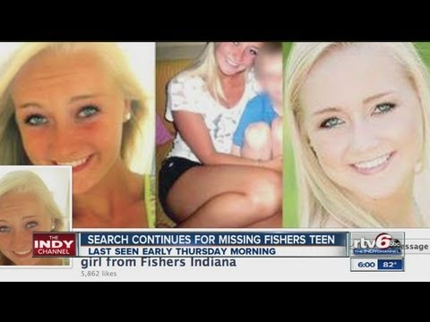 Volunteers, police continue search for missing Fishers teen Peyton Riekhof