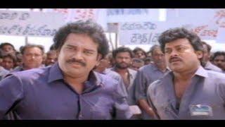 Gharana Mogudu Full Movie Part 10/13 - Chiranjeevi, Nagma, Vani Viswanath