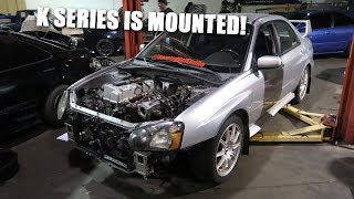 Making Motor Mounts for the K Swapped STI!