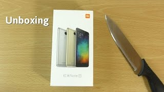 Xiaomi Redmi Note 3 Silver - Unboxing & First Look!