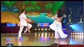 Showmatch 2007 - La cumbia de Paula y Franco