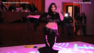 Maya Raqs Sharqi Guest Performance Part 1 at Bellydance Trophies Competition