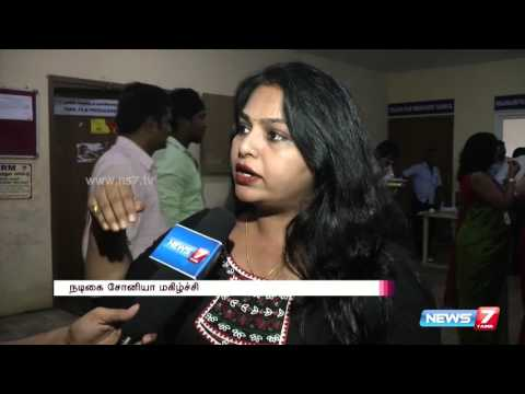 Actress Sonia talks about