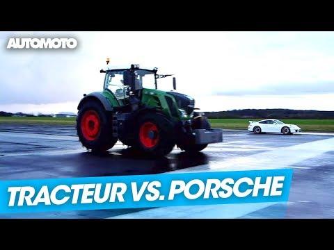 Fable Le tracteur qui voulait défier la Porsche 911 GT3
