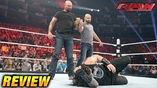 WWE RAW 18 April 2016 REVIEW (4/18/16)