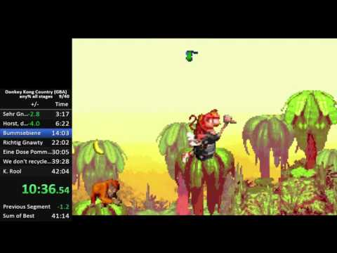 Xxx Mp4 Donkey Kong Country GBA Any Speedrun In 41 31 3gp Sex