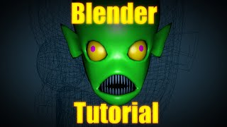 Blender Tutorial: Making Simple Faces