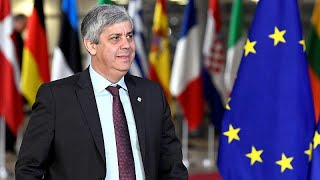 Eurogroup president Mário Centeno on Brexit and EU Elections