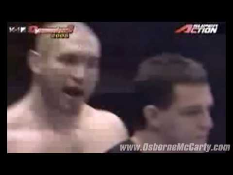 Great Moments in MMA History 1 Osborne & McCarty