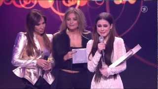 Lena Meyer-Landrut gewinnt den ECHO für das Beste Musikvideo National 2013