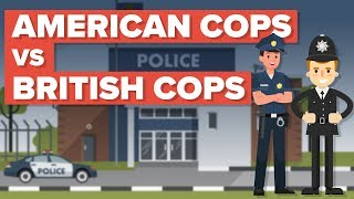 American Cops vs British Cops (Bobbies)