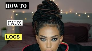HOW TO FAUX LOCS WITH YARN