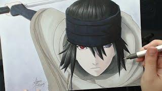 Speed Drawing - Uchiha Sasuke [The Last - Naruto The Movie]