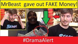 MR BEAST Giving Away FAKE MONEY? #DramaAlert ( MrBeast Interview Explaining )