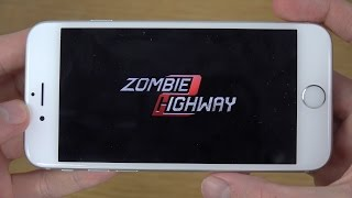 Zombie Highway 2 iPhone 6 4K Gameplay Review