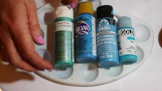 How to paint dot mandalas- tools and tips