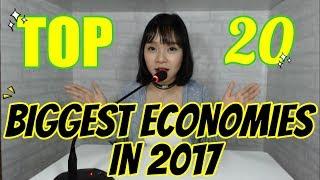 [ENG SUB] TOP 20 CÁC NƯỚC CÓ GDP CAO NHẤT THẾ GIỚI! - [2017 TOP 20 WORLD GDP]