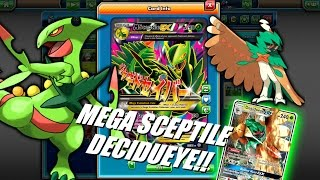 PTCGO NEW Mega Sceptile Decidueye GX Deck! Giving Sceptile the edge it needs!(Pokemon TCG Online)