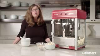 Kettle Style Popcorn Maker Demo (CPM-2500)