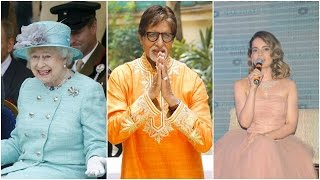 Amitabh Says No To Queen Elizabeth 2 | Kangana Clears Her Stand About Shahid