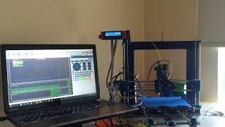 3D yazıcı  Repetier extruder kalibrasyonu (3d printer extruder calibration Repetier host)