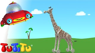 Zabawki TuTiTu | żyrafa