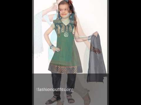 Girls Kid's Salwar Kameez | Pakistani Dresses