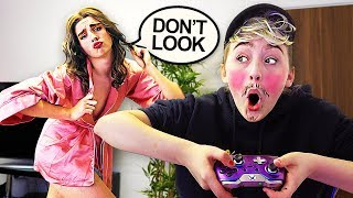 SWITCHING LIVES WITH MY GIRLFRIEND FOR 24 HOURS!! *Gone Too Far*