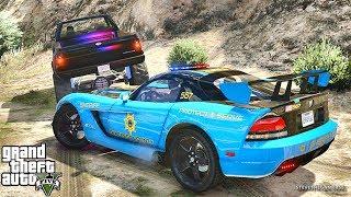 GTA 5 LSPDFR 0.3.1 - EPiSODE 683 - LET'S BE COPS - SUPERCARS PATROL (GTA 5 PC POLICE MODS)
