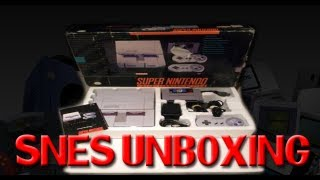 Unboxing Super Nintendo (SNES)