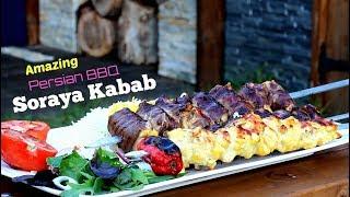 Amazing Soraya Kabab _ Persian BBQ Recipe _ Iran