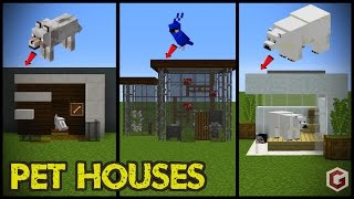 29 Minecraft Pet (Animal) House Designs!