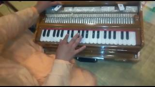 Learn Harmonium Hare Krishna Tune (SLOW) Lessons 2