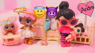 Muñecas LOL Lil Sisters - Abrimos dos cajas de juguetes como huevos sorpresa de L.O.L. Lil Sisters