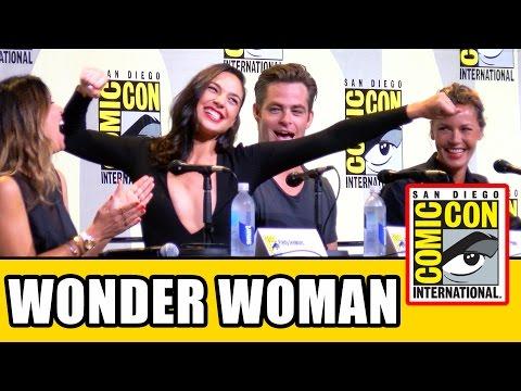 Xxx Mp4 WONDER WOMAN Comic Con Panel Gal Gadot Chris Pine Connie Nielsen Patty Jenkins 3gp Sex