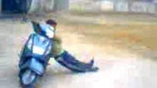 some stunts at community centre jharsa
